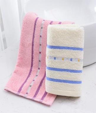 DK2008纯棉线条毛巾