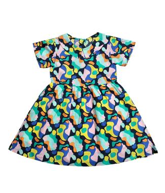 8003L短袖连衣裙